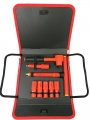 118PC 38DR.REVERSIBLE RATCHET SET-1000V AC INSULATED -VDE TESTED AND GS APPROVAL