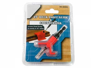 45° DECK ANGLE GUIDER & COUNTERSINK