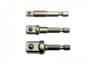 "1/4"" HEX DRIVE SOCKET ADAPTOR-BALL LOCKING TYPE"