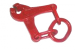 SCISSORS TYPE PULLING CLAMP