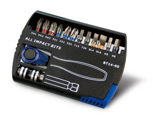 14PC IMPACT BIT & WRENCH SET